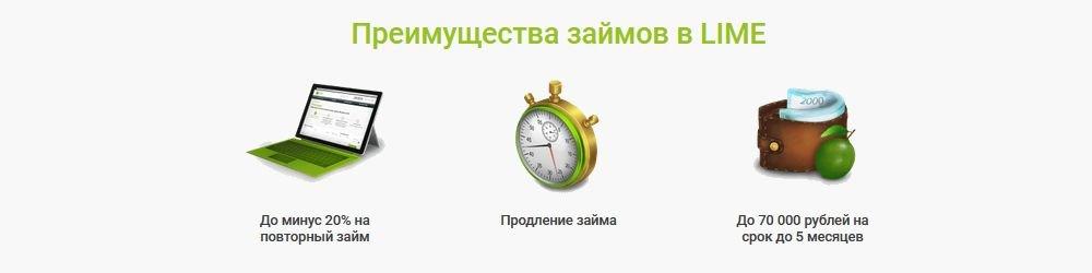Основныепреимуществазаймов МФК Лайм займ